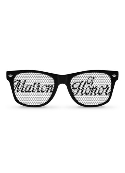 Personalized Matron of Honor Sunglasses - Wedding Gifts & Decorations