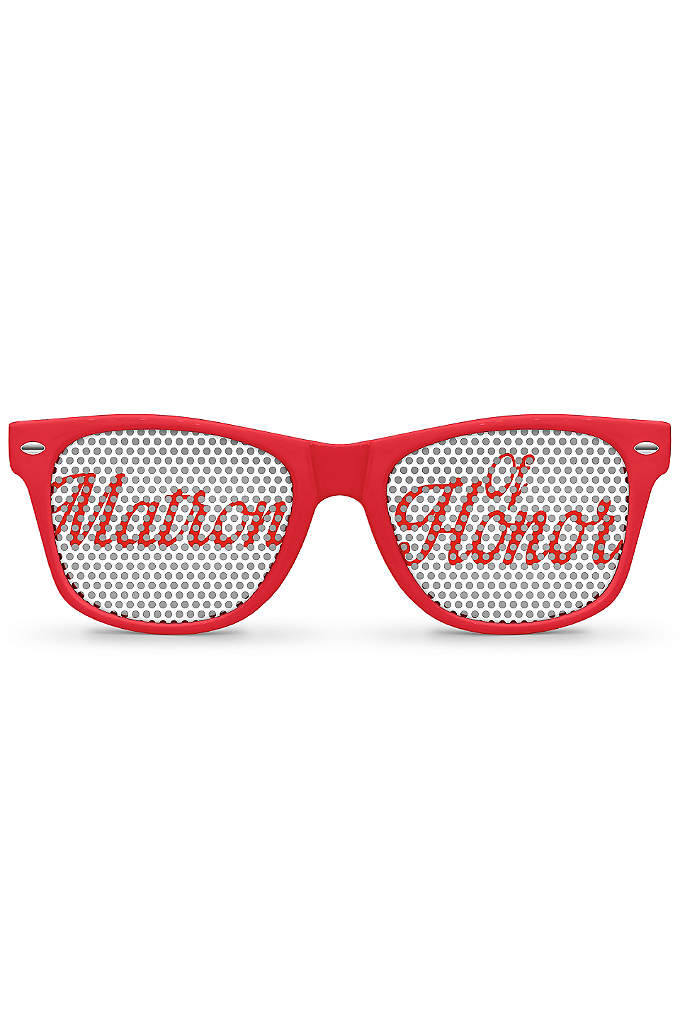 Personalized Matron of Honor Sunglasses - You're one of a kind and your sunglasses