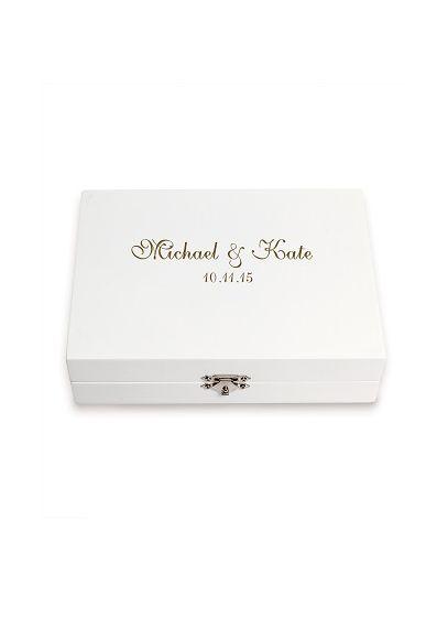 Personalized Ring Bearer Keepsake Box - Wedding Gifts & Decorations