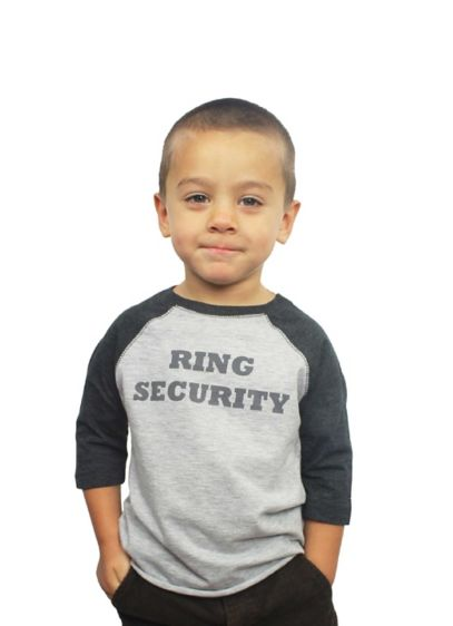 Ring Security Shirt - Wedding Gifts & Decorations