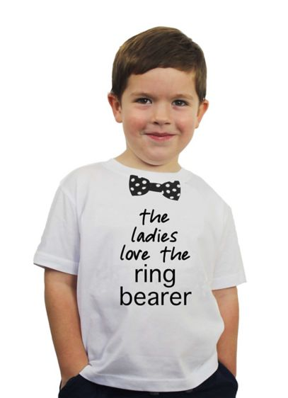 The Ladies Love the Ring Bearer Tee - Wedding Gifts & Decorations