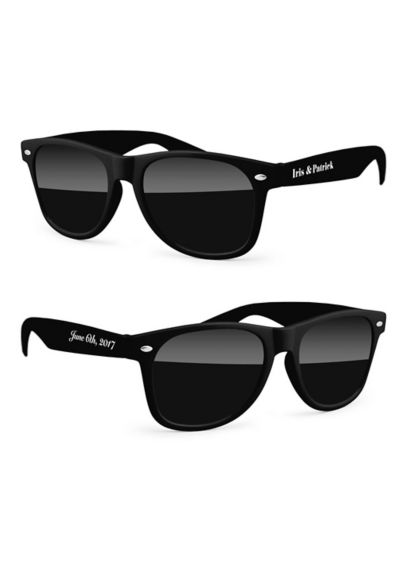 Personalized Retro Party Sunglasses - Wedding Gifts & Decorations