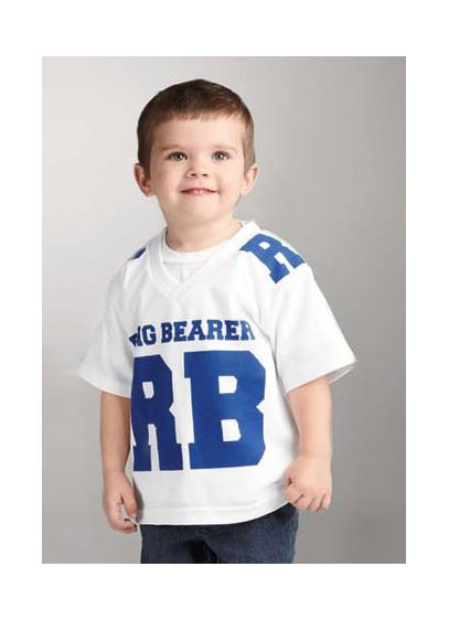 DB Exclusive Ring Bearer Athletic Jersey - Wedding Gifts & Decorations