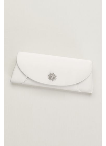 Sunburst Crystal Clutch - Wedding Accessories