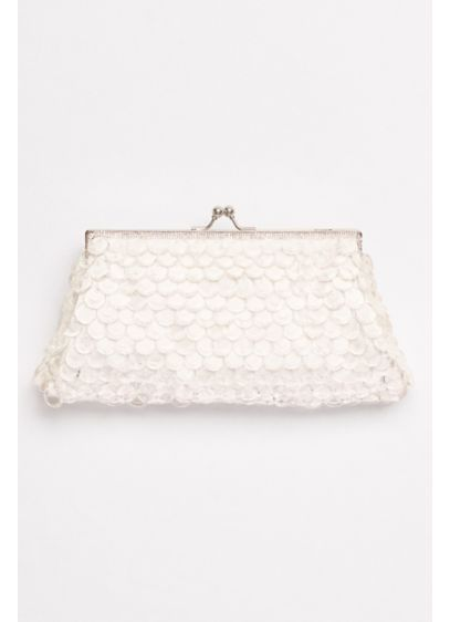 Paillettes Kisslock Clutch - Wedding Accessories