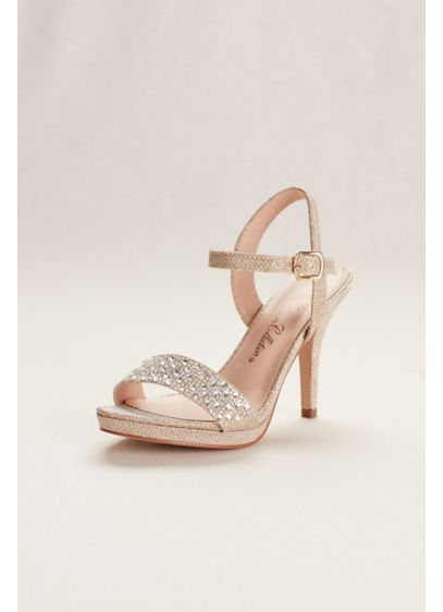 Blossom Beige (Embellished Party Heel by Blossom)