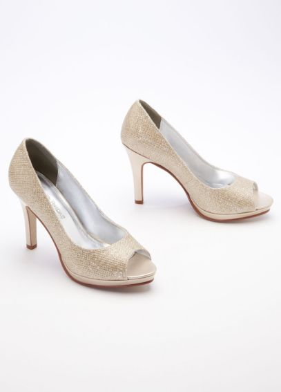 High Heel Peep Toe Pump ROCHELLE