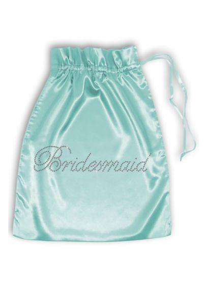 Rhinestone Bridesmaid Satin Bag - Wedding Gifts & Decorations