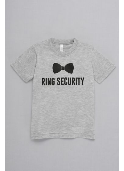 Ring Security Kids Tee - Wedding Gifts & Decorations
