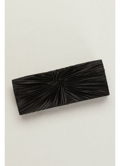 Pleated Knot Clutch - Wedding Accessories