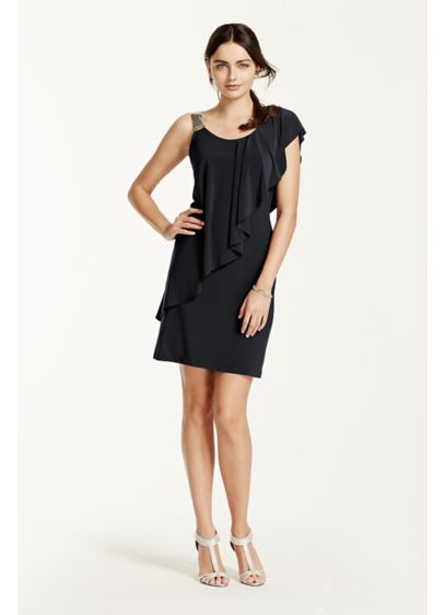 Short Sheath Tank Cocktail and Party Dress - Scarlett Nite