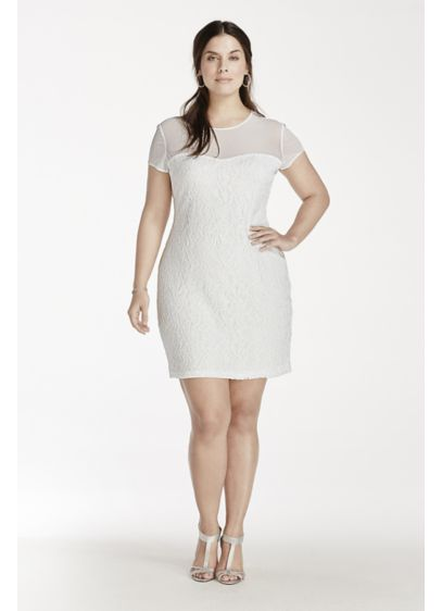 Short Sheath Short Sleeves Graduation Dress - Scarlett Nite