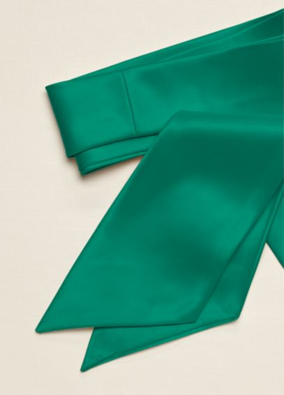 Versatile Long Satin Sash  S400