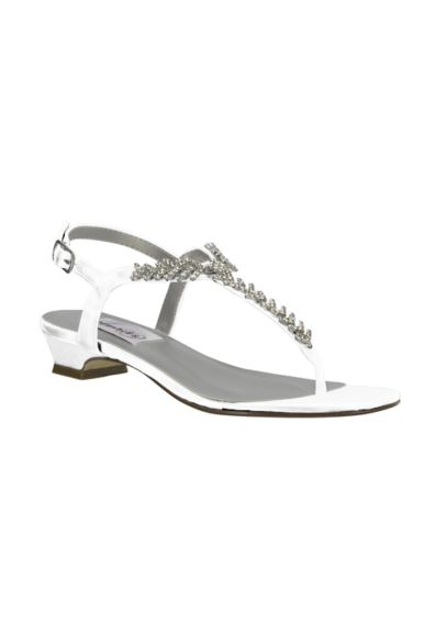 Touch Ups Sarah Dyeable Strappy Thong Sandal SARAH1