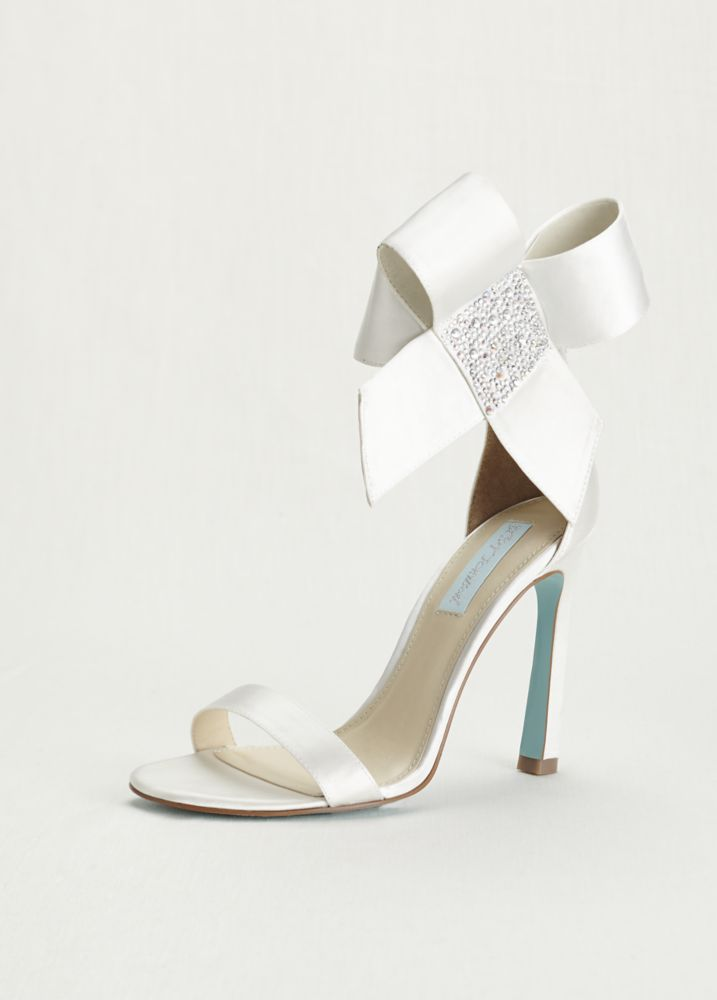 Ivory Beaded Wedding Shoes