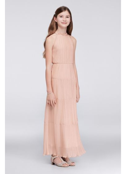 Short Pink Soft & Flowy Speechless Bridesmaid Dress
