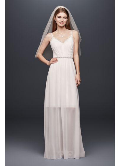 Long Sheath Casual Wedding Dress -