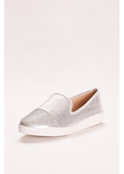 Slip on Sneaker with Embellished Toe SF5504