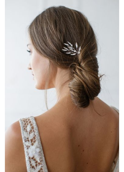 Marquise Crystal Sprig Hair Pin Set - Wedding Accessories