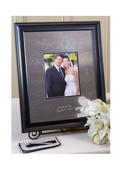 Personalized Signature Frame With Beaded Frame SKBD