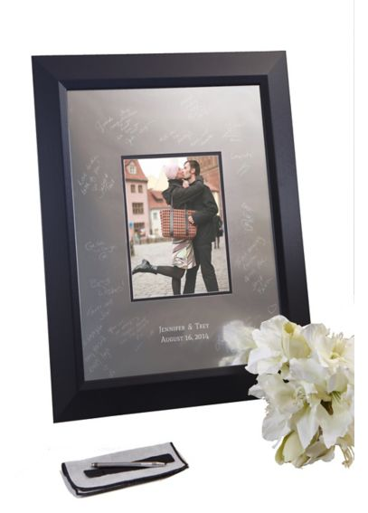 Personalized Signature Frame with Beveled Frame SKBV