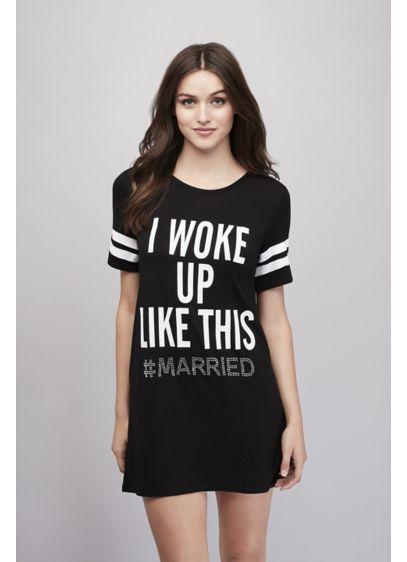 Woke Up #Married Sleep Shirt - Wedding Gifts & Decorations