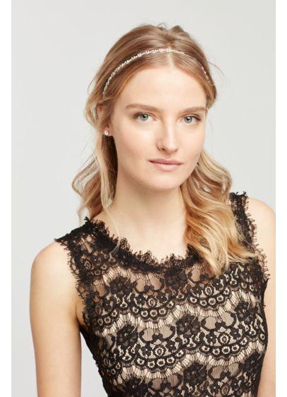 Rhinestone Twist Headband - Wedding Accessories