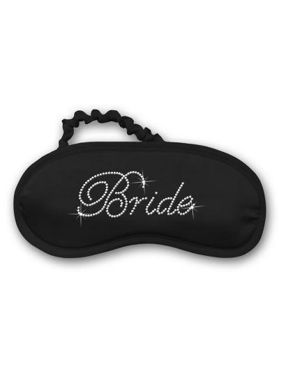 Rhinestone Bride Satin Sleep Mask - Wedding Gifts & Decorations