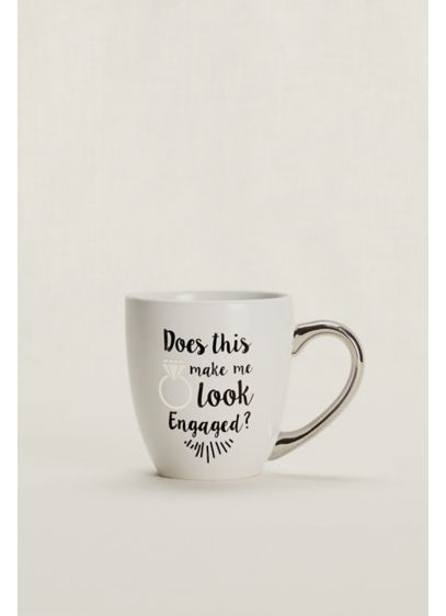 Does This Ring Make Me Look Engaged Mug - Wedding Gifts & Decorations
