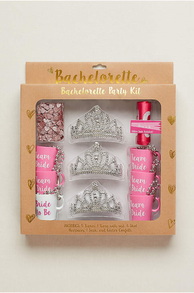 Bachelorette Party Kit - This beautifully packaged bachelorette kit contains everything you