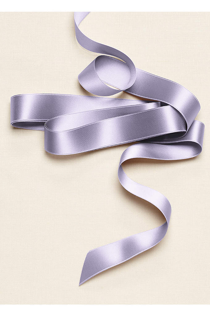 Classic Satin 1 inch Sash - The timeless satin ribbon is the perfect accent