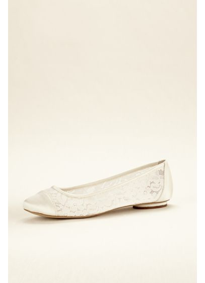 Pink Paradox Ivory (Lace Ballet Flat)