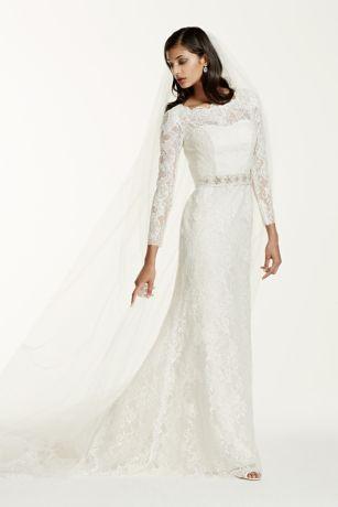Vintage Long Sleeve Wedding Gown