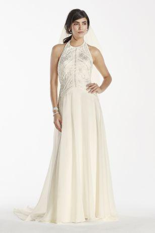 Halter Chiffon Dress
