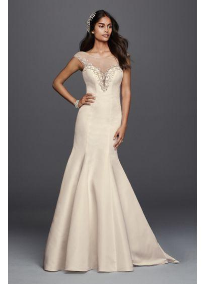 Long 0 Glamorous Wedding Dress - Galina Signature