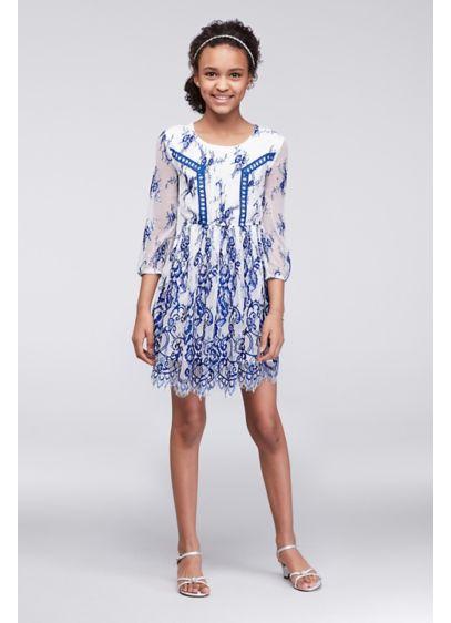 Short White Soft & Flowy Trixxi Bridesmaid Dress