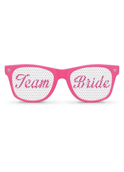 Pink Team Bride Sunglasses - Wedding Gifts & Decorations