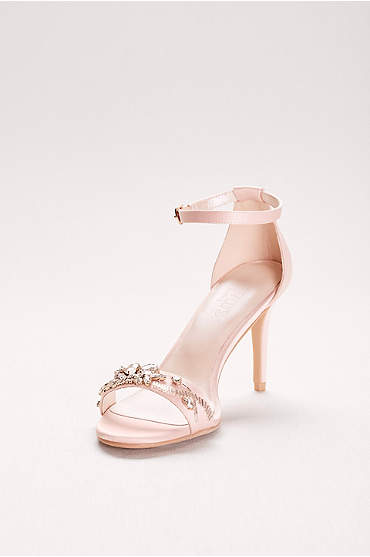 Jeweled Strappy Heels