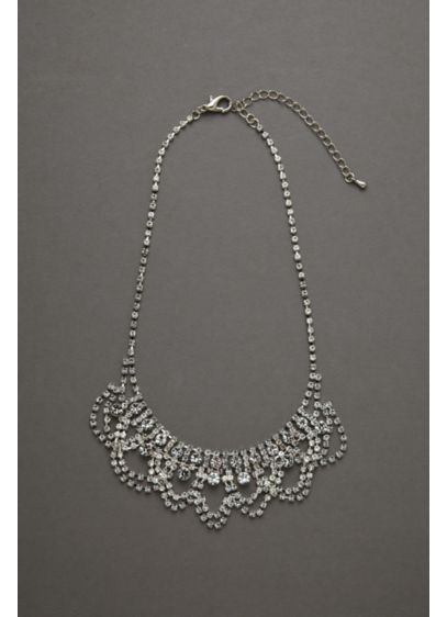 Bold Crystal Necklace - Wedding Accessories