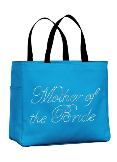 Rhinestone Mother of the Bride Tote Bag - Wedding Gifts & Decorations