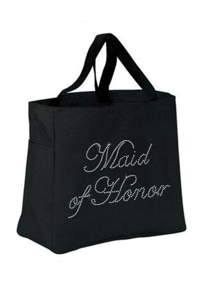 Rhinestone Maid of Honor Tote Bag - Wedding Gifts & Decorations