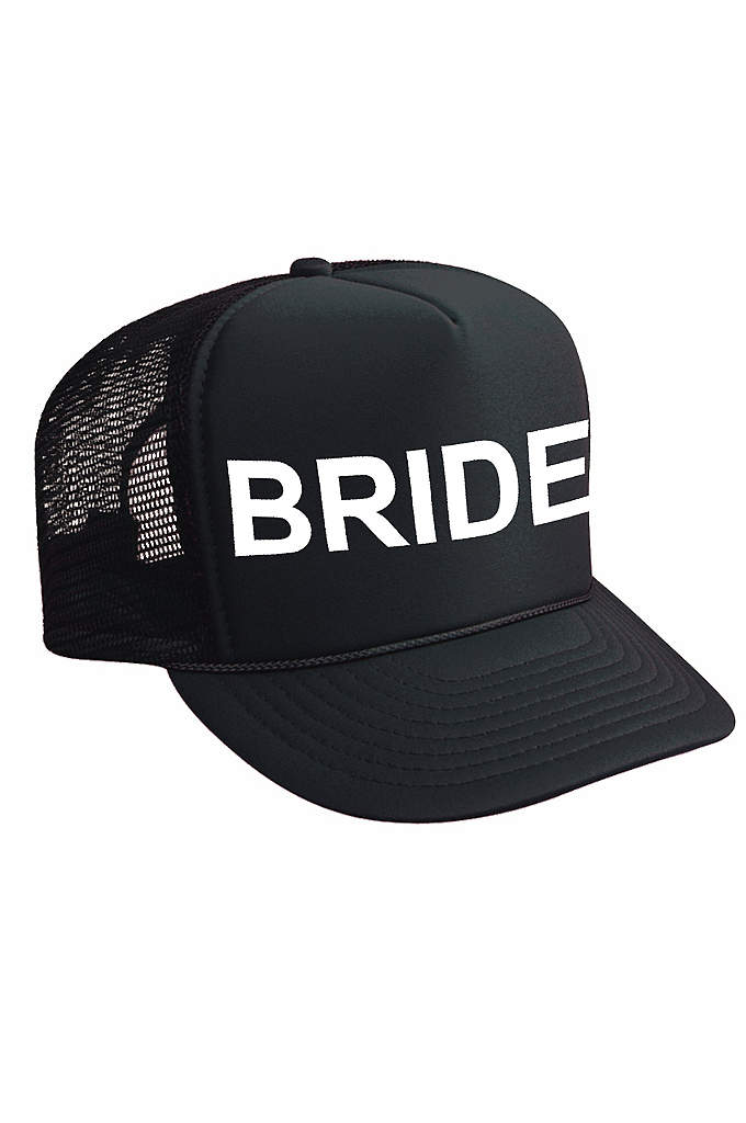 Bride Trucker Hat - No Bachelorette Party is complete without your coordinating