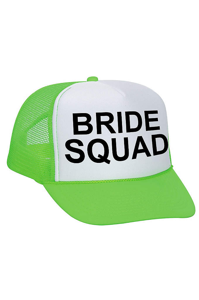 Bride Squad Trucker Hat - Your Bride Squad will love their new trucker