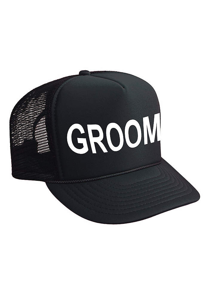 Groom Trucker Hat - No Bachelor Party is complete without your coordinating