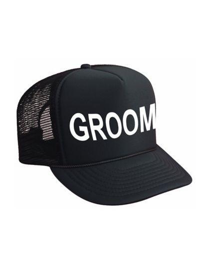Groom Trucker Hat - Wedding Gifts & Decorations