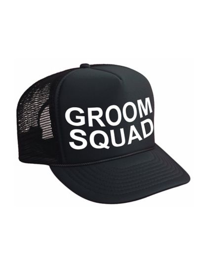 Groom Squad Trucker Hat - Wedding Gifts & Decorations