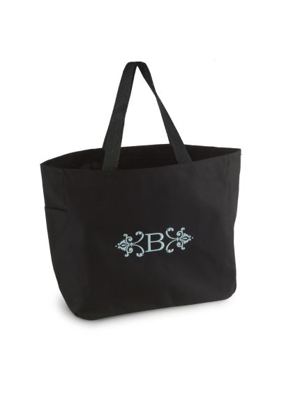 Black (DB Exclusive Personalized Florentine Tote Bags)
