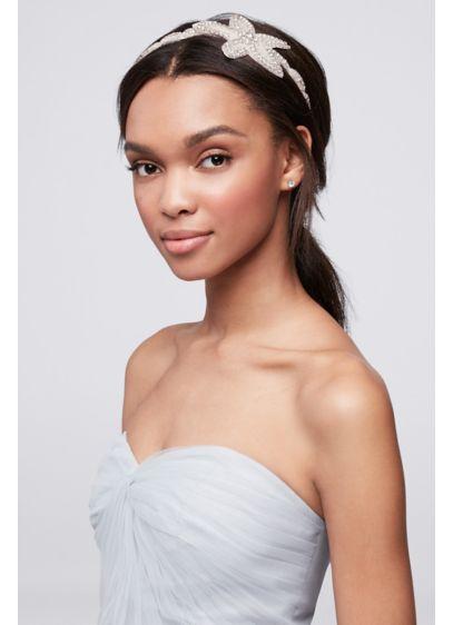 Beaded Bloom Headband - Wedding Accessories