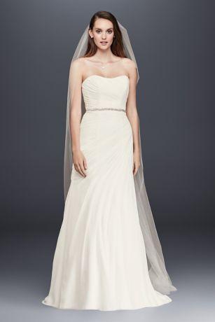 Chiffon Beach Wedding Gowns
