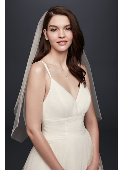 One-Tier Blusher Veil - Wedding Accessories